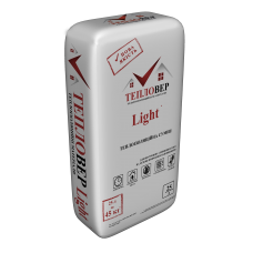 Теплоізоляційна штукатурка Тепловер Light 25л