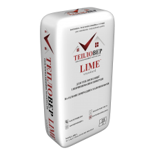 Теплоізоляційна штукатурка Тепловер Lime 25л