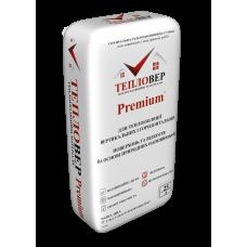 Теплоізоляційна штукатурка Тепловер Premium+ з гідрофобним ефектом на піносклі